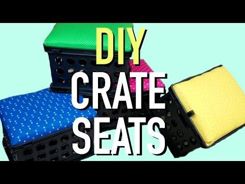 DIY CRATE SEATS | A Classroom Diva