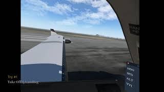 New flight simmer IFR tutorial  Flight plan, auto pilot