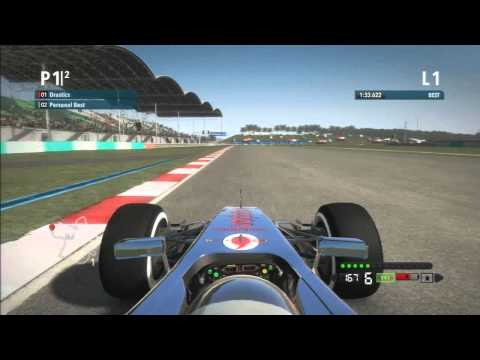 F1 2012 Tips | Improving Lap Time - Malaysia