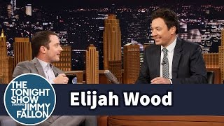 """Elijah Wood reveals his real-life friendship with The Bachelor Nick Viall, causing him and Jimmy to get lost in a conversation about how """"real"""" Nick is on the show, Corinne"""