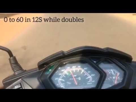 New Honda Dio speed test