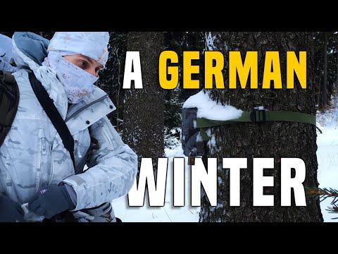 A German winter.