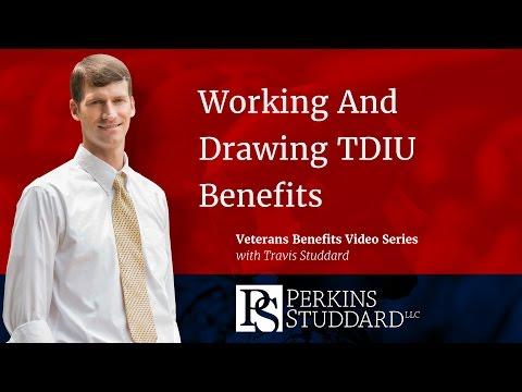 Working And Drawing TDIU Benefits