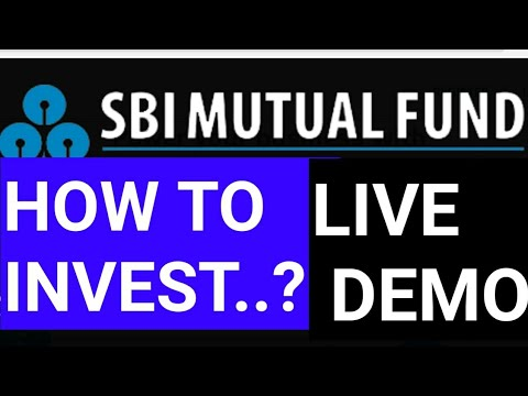 Sbi small cap fund - how to invest..?..do SIP live demo | Cams SIP process - Hindi