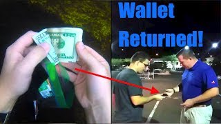 Found Wallet Full of Cash (Returned to Owner), and Sunglasses in River! (River Treasure)