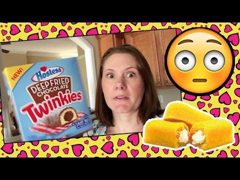 Huge Slip N Slide Birthday Party/ We tried Hostess DEEP FRIED TWINKIES!