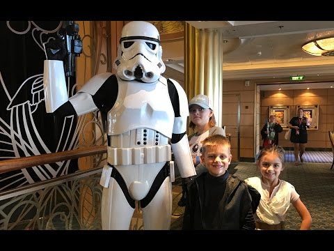 STAR WARS DAY AT SEA ON THE DISNEY FANTASY CRUISE!