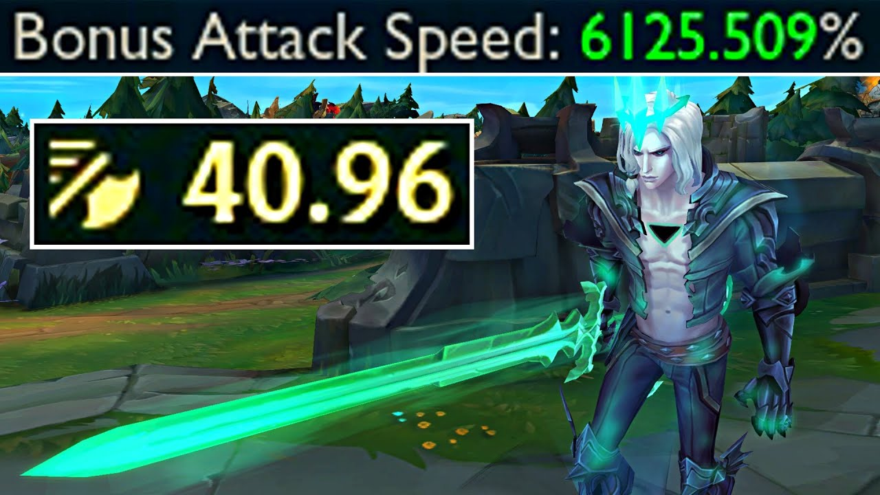 40.00+ ATTACK SPEED VIEGO vs EVERYTHING! Crazy Bug!