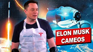 All Elon Musk's Cameos in Movies and TV Series