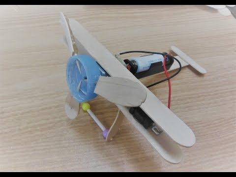 DIY Simple Propeller Airplane | How to Make DC motor Toy at Home