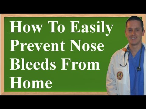 How To Easily Prevent Nose Bleeds From Home