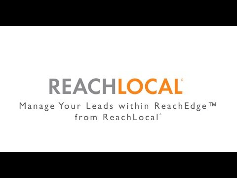 How to Manage Leads in ReachEdge