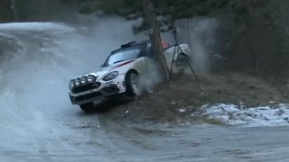 RALLYE MONTE CARLO 2017 BEST MOMENTS: On the limits, crashes & show