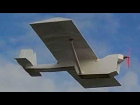 VERY SLOW Flying FPV - AV Plane only $15 in materials!