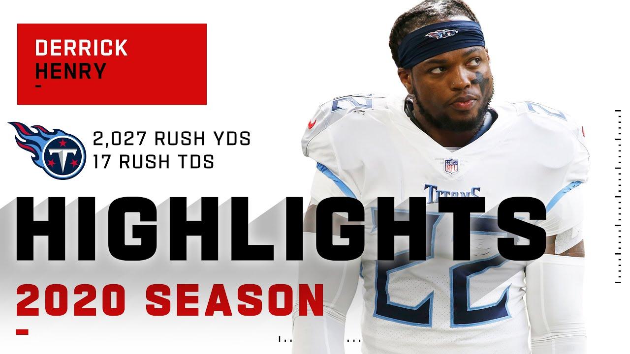 Derrick Henry Full Season Highlights w/ +2,000 Rushing Yds | NFL 2020