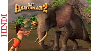 Popular Animated Movie - Bal Hanuman 2 - Bal Hanuman Vs The Elephants