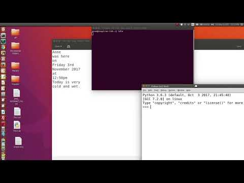 Python files read