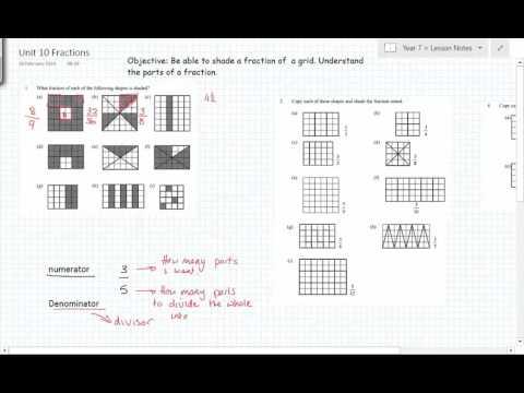 fractions unit 9