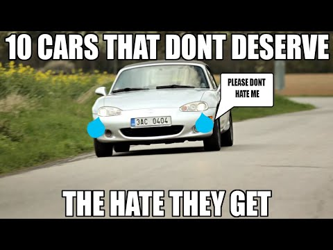 10 Cars That Don't Deserve The Hate They Get