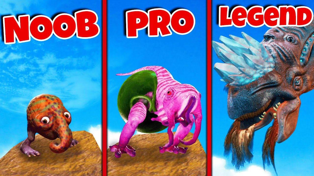 Noob vs Pro vs Legendary MUTATED ALIENS...