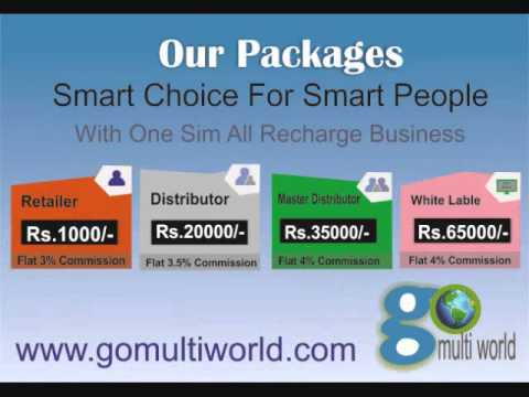 Go Multi World One Sim All Recharge Business | Recharge api provider