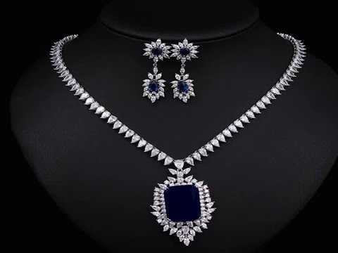 Blue Sapphire Jewelry Sets