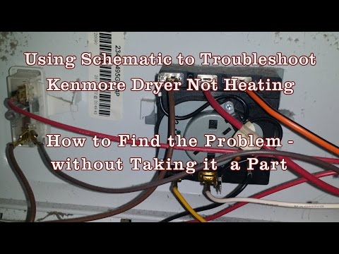 Appliance Repair - How to Read Schematics Diagram Kenmore/Whirlpool Dryer