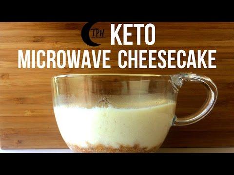 Keto Mug Cheesecake | Low-Carb Microwave Cheesecake Recipe