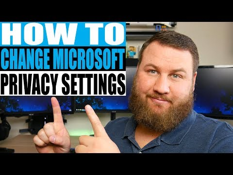 How to Change Your Microsoft Privacy Settings