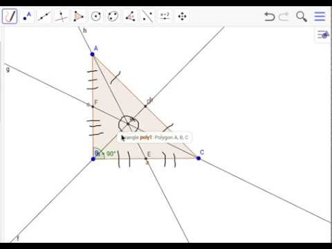 Finding/Making a Centroid for a Right Triangle
