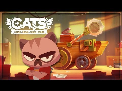 DON'T MESS WITH THESE CATS! - Crash Arena Turbo Stars (CATS)
