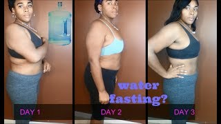 7 Day Water Only Fast (weight loss results)