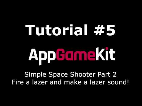 AppGameKit Tutorial #05 - Making a simple Shooter Game Part 2