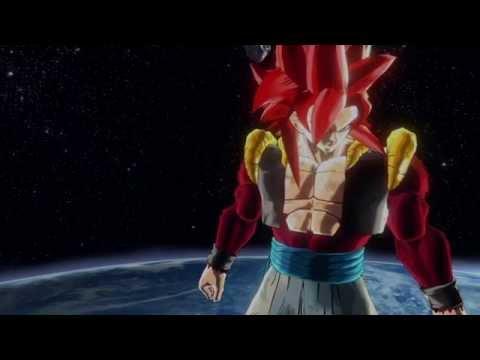 Gogeta SSJ4 vs Cell Full Power (100x Big Bang Kamehameha) | Dragon Ball Xenoverse |