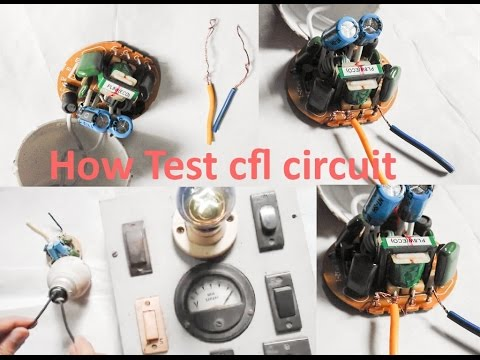 Cfl circuit Test