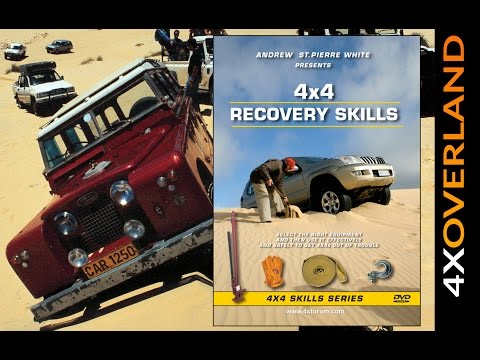 HOW TO RECOVER A 4X4. FULL FEATURE VIDEO. From 4xOverland