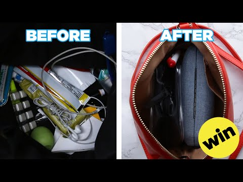 Easy Tips To Keep Your Bag Organized