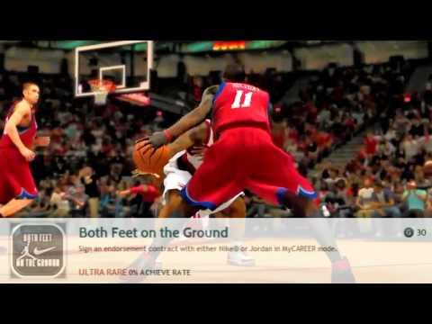 NBA 2K13 New Modes: MyCAREER, MyTEAM, Create A Legend, MyPlayer Blacktop Revealed Achievements