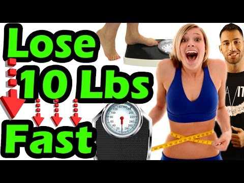 Lose 10 Pounds in a Week EFFORTLESSLY Without Counting Calories ➠How to Lose Belly Fat & Weight Fast