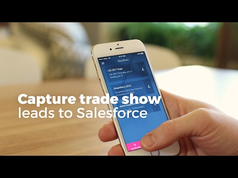 Capture trade shows leads with Zero Keyboard