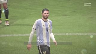 Fifa 17 Argentina - Egypt -0 PS4 Full Gameplay