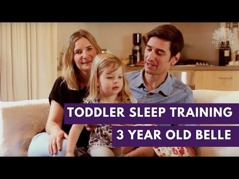 Toddler sleep training - Rob, Helen & Belle 3 years old