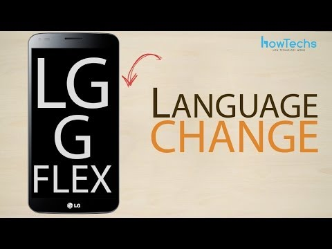 LG G Flex - How to change language