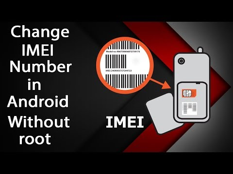How to change Android Mobile IMEI without root