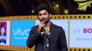 Nani Emotional Speech After Winning Best Actor Award