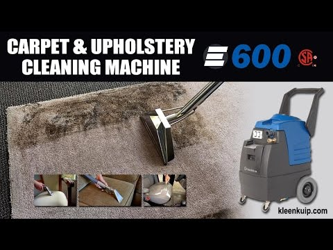 The #1 Portable Carpet and Upholstery Cleaning Machine - Esteam E-600