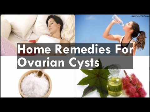 Home Remedies For Ovarian Cysts