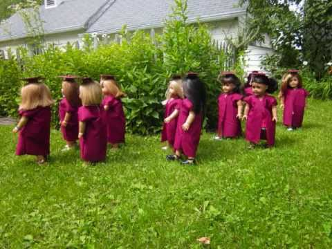 American Girl Graduation! Congrats to the Class of 2011! :)