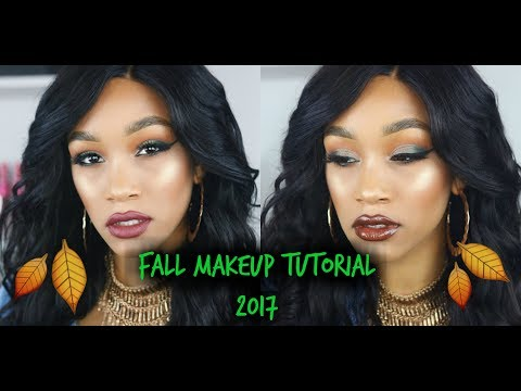 FALL MAKEUP TUTORIAL 2017 |TWO LIP OPTIONS!!|
