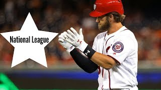 TOP 10 MLB PLAYERS IN THE NATIONAL LEAGUE ᴴᴰ